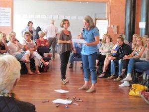 Open Space med Pernilla Luttropp och kursdeltagare