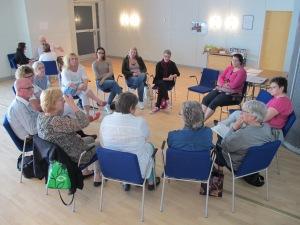 Gruppdiskussioner vid Open Space